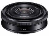 Sony E 20 mm f/2.8 (SEL20F28.AE) / Sony E