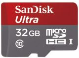 Sandisk microSDHC 32 GB Ultra 48MB/s C10 UHS-I + adapter SD