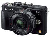 Panasonic Lumix DMC-GX1X + ob. 14-42 POWER O.I.S. czarny
