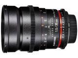 Samyang 35 mm T1.5 VDSLR / Sony
