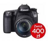 Canon EOS 70D body + CASHBACK 400PLN + Poradnik w odcinkach