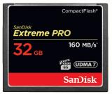 Sandisk CompactFlash EXTREME PRO 32 GB 160 MB/s