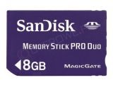 Sandisk Memory Stick PRO Duo 8 GB