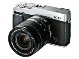 FujiFilm X-E2 srebrny+ ob.18-55mm F/2.8-4.0