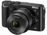 Nikon 1 V3 + ob. 10-30 PD-ZOOM + wizjer + uchwyt