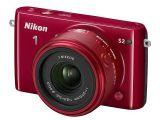 Nikon 1 S2 czerwony + ob. 11-27.5mm