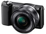 Sony ILCE A5000 + ob. 16-50mm czarny