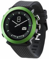 Cogito Copy of Classic - analogowy zegarek z cyfrowy - Powystawowym wyświetlaczem dla urządzeń z systemem iOS 7 i Android 4.3 (zielony) - Powystawowy