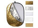 Powerlux blenda 5w1 102x168cm sunfire wave (biała, srebrna, złota, dyfuzor, sunfire)