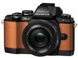 Olympus E-M10 Limited Edition pomarańczowy + ob. 14-42EZ czarny