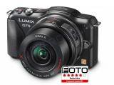 Panasonic Lumix DMC-GF5X + ob.14-42 POWER O.I.S czarny + torba DMW-PGH60KH