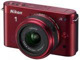 Nikon 1 J2 czerwony + ob. 11-27.5
