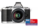 Olympus OM-D E-M5 srebrny + ob. 12-50 czarny
