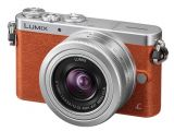 Panasonic Lumix DMC-GM1 pomarańczowy + 12-32mm F/3.5-5.6 ASPH MEGA OIS + torba Jimmy Bo 300 brązowa