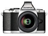 Olympus OM-D E-M5 srebrny + ob. 45mm