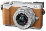 Panasonic LUMIX DMC-GX80 + ob. 12-32 brązowy