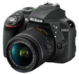 Nikon D3300 + AF-P 18-55 VR KIT
