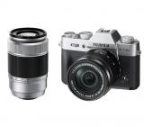 FujiFilm X-T20 + 16-50 mm + 50-230 mm II srebrny