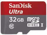 Sandisk microSDHC 32 GB Ultra 80MB/s C10 UHS-I + adapter SD