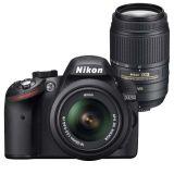 Nikon D3200 czarny + 18-55 VR + 55-300 VR