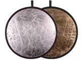 Powerlux Blenda 2w1 okrągła 82cm srebrno-złota