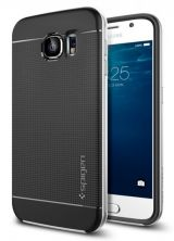 Spigen SGP etui Neo Hybrid Samsung s6 srebrny