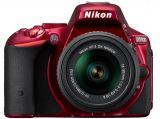 Nikon D5500 czerwony + ob. 18-55 VR II