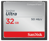 CompactFlash ULTRA 32 GB 50MB/s