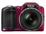 Nikon Coolpix L830 czerwony CASHBACK 100 PLN