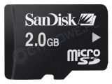 Sandisk microSD 2 GB