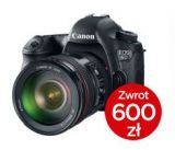 Canon EOS 6D + ob. 24-105 IS STM + CASHBACK 600PLN