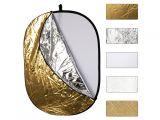Powerlux blenda 5w1 60x90cm sunfire wave (biała, srebrna, złota, dyfuzor, sunfire)