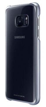 Samsung Clear Cover etui do Galaxy S7 czarne