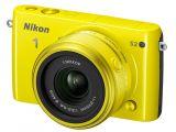 Nikon 1 S2 + ob. 11-27.5mm żółty