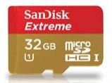 Sandisk Extreme microSDHC 32GB UHS-I 80MB/s