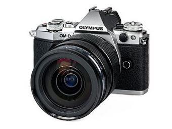 Olympus OM-D E-M5 MK II srebrny + ob. 12-40 PRO czarny