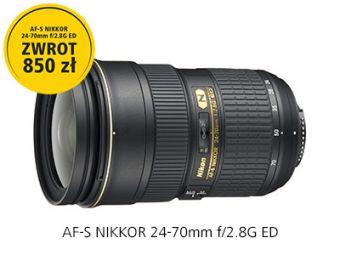 Nikon Nikkor 24-70 mm f/2.8 G ED AF-S CASHBACK