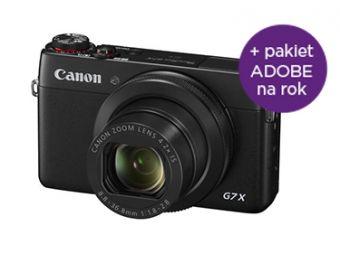 Canon PowerShot G7 X + Adobe Creative Cloud