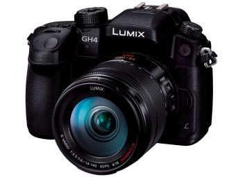 Panasonic Lumix DMC-GH4 czarny + 14-140 mm