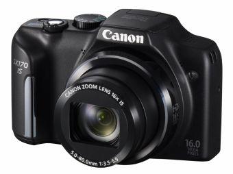 Canon PowerShot SX170 IS czarny