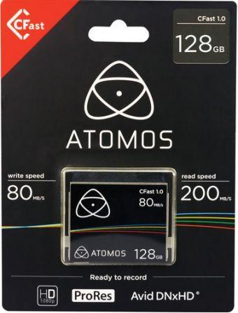 Atomos CFast 1.0 Card 128GB + czytnik kart Cfast