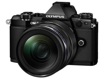 Olympus OM-D E-M5 MK II czarny + ob. 12-40 PRO czarny