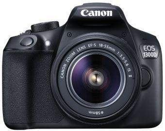 Canon EOS 1300D + ob. 18-55 IS II - Cashback 130 zł + 100GB w serwisie Irista!