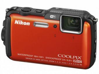 Nikon Coolpix AW120 pomarańczowy CASHBACK 100 PLN