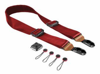 Peak Design Pasek na szyję SLIDE wersja Lassen/czerwony