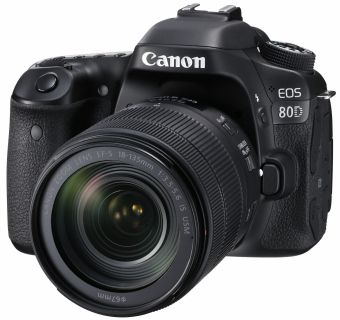 Canon EOS 80D + ob. 18-135 IS USM Nano + Cashback do 3440 zł