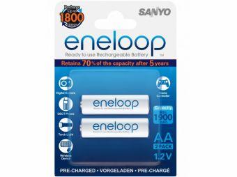 Sanyo Eneloop R6/AA NiMH 1900 (opak. 2 szt.) 1800 CYKLI