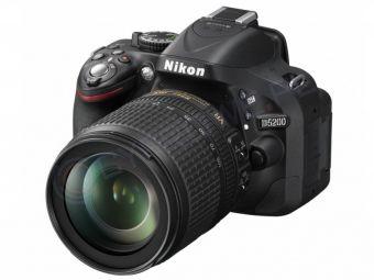Nikon D5200 czarny + ob.18-105 VR