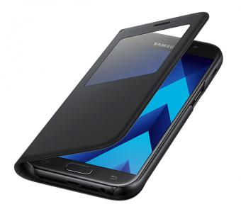 Samsung S-View Standing Cover do Galaxy A5 (2017) czarny