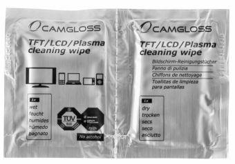 Camgloss Cleaning Wipes DUO 5x2 szt - chusteczki czyszczące